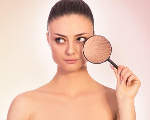 trattamento estetico pelle secca