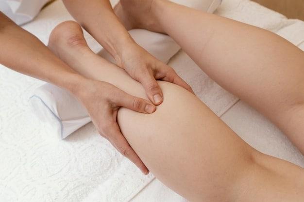 massaggio linfodrenante gambe