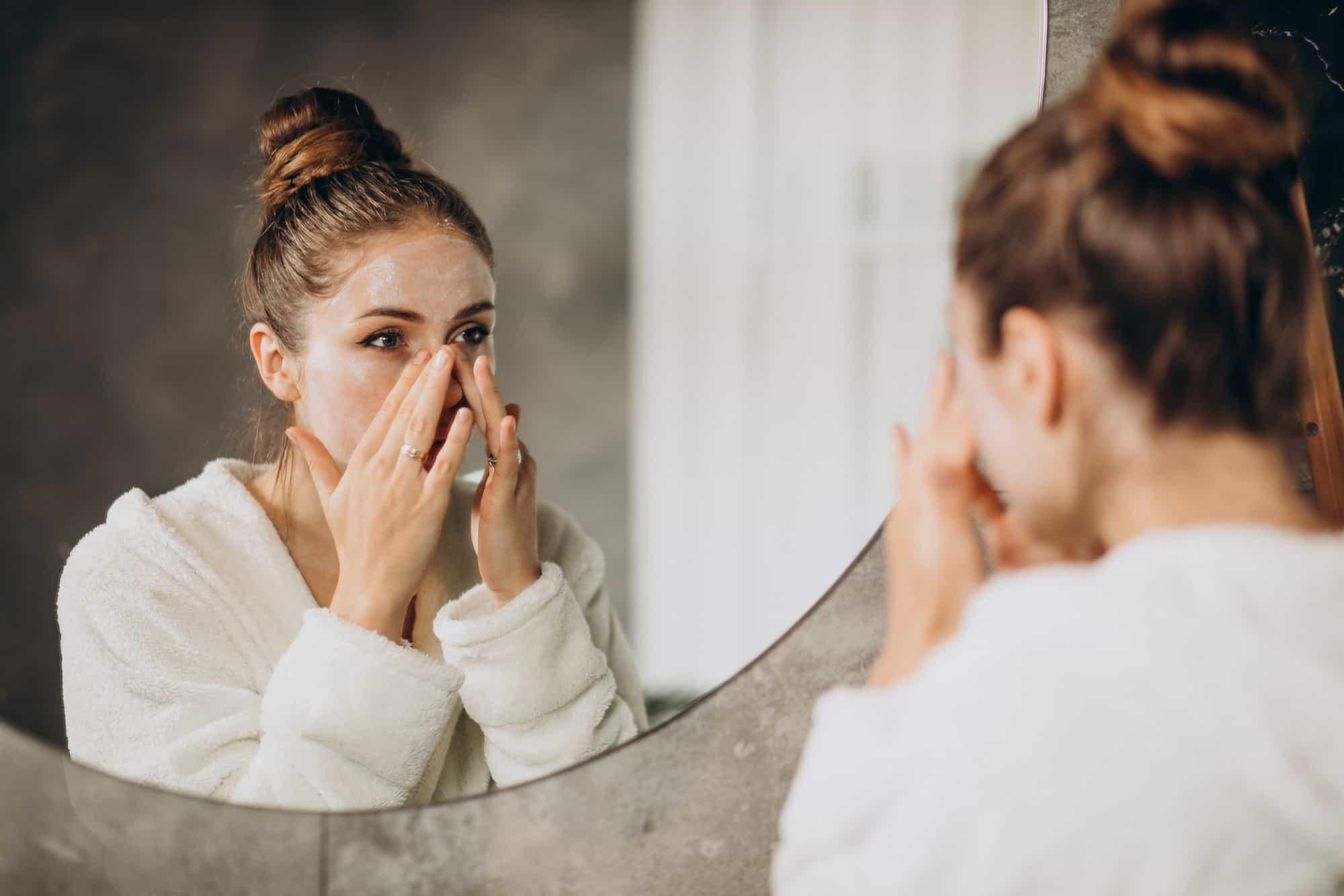 detersione dei pori della pelle