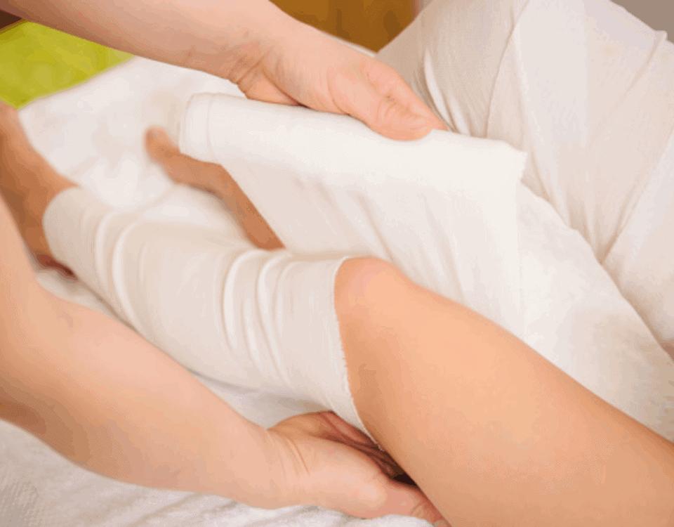 bendaggi drenanti gambe