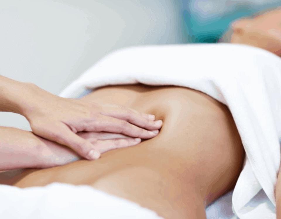 massaggio drenante pancia