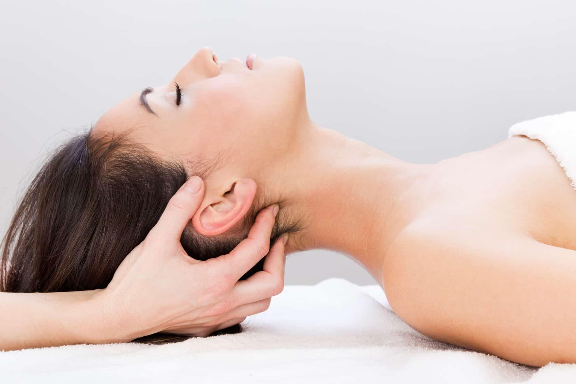 massaggio linfatico faccia