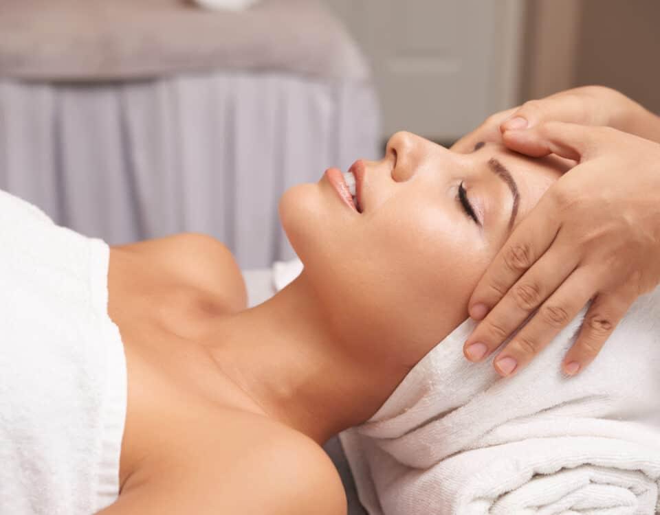 massaggio linfatico viso